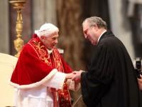 Il Santo Padre Benedetto XVI incontra i Membri del Sovrano Militare Ordine di Malta
