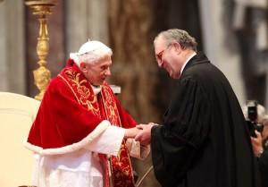 Santo Padre Benedetto XVI e Sovrano Militare Ordine di Malta