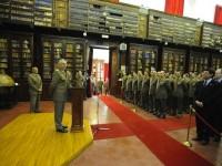 Il capo di SME generale Graziano visita l'IGM e il Comando Militare dell'Esercito Toscana