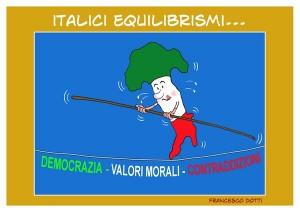 Italici equilibrismi