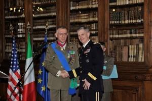 Il Generale Graziano e il Generale Campbell