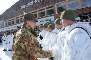 CaSTA 2013: Il generale Graziano e gli atleti militari