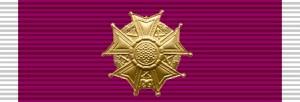 """la """"Legion of Merit"""" degli Stati Uniti d'America"""