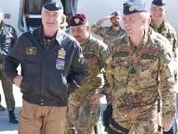 Afghanistan: visita del Capo di Stato Maggiore dell'Aeronautica Militare al Regional Command West