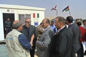 L'ambasciatore Fondi incontra  agenzie di assistenza umanitaria internazionali operanti all'interno del campo