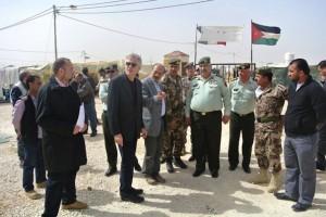 L'ambasciatore Fondi al campo di Zaatari