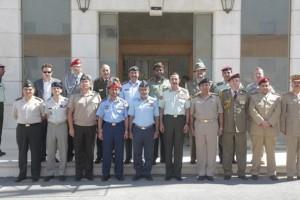 Incontro Addetti militari con il Capo di Stato Maggiore Giordano
