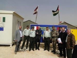 L'ambasciatore Fondi al campo Zaatari