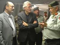 L'ambasciatore italiano in Giordania Patrizio Fondi visita il campo profughi di Zaatari