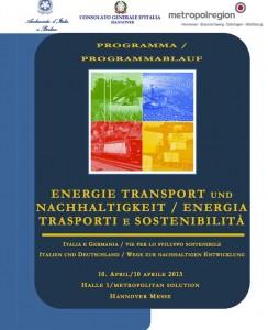 Energia trasporti e sostenibilità:convegno