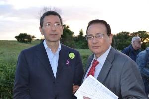 Ignazio Marino e Nicola Galloro