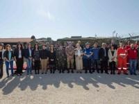 Shama (Libano): incontro su pianificazione e coordinamento in caso di disastri naturali
