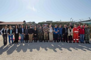 Incontro pianificazione e coordinamento in caso di disastri naturali a Shama in Libano