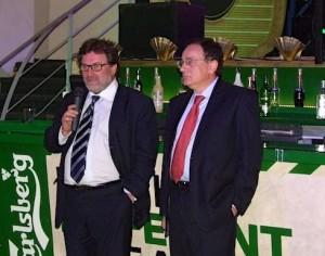 L'onorevole Michele Meta e Nicola Galloro