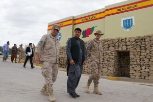 the Provincial Governor of Badghis visits Spanish PRT