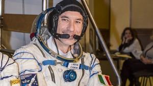 Luca Parmitano si prepara per la missione spaziale