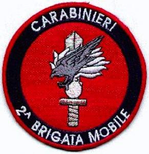 2° brigata mobile carabinieri