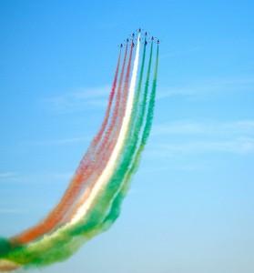 Le Frecce Tricolori