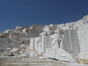 La cava di marmo di Chisht e Sharif