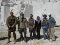 Afghanistan: il comandante del Regional Command West visita le cave di marmo di Chisht e Sharif