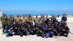 Libano,concluso il corso dei caschi blu italiani