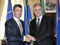 Il Ministro Mauro incontra il Segretario Generale della NATO