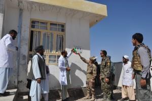 la clinica pubblica nel distretto di Shindand in Afghanistan