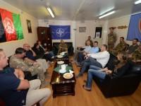 Afghanistan: una delegazione del Ministero degli Esteri visita il contingente italiano