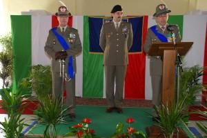 il generale di brigata Fogari subentra al generale di divisione Primicerj