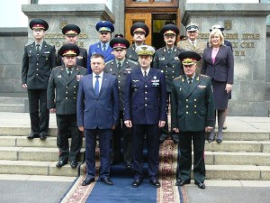 The Chairman of the EU military committee, general Patrick de Rousiers, went on an official visit to Ukraine