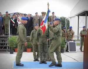 cambio al comando del 5° Reggimento AVES Rigel
