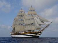 La nave scuola Amerigo Vespucci alla Mediterranean Tall Ship Regatta 2013