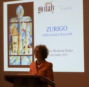 Zurigo vista dagli Italiani, edizioni Arti grafiche palermitane, Palermo 2013