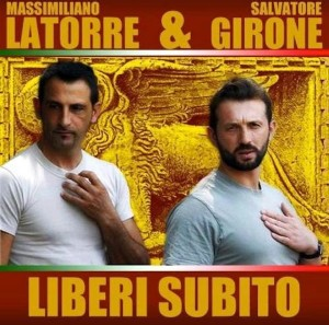 Kerala vs. Massimiliano Latorre e Salvatore Girone