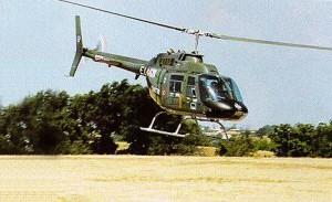 elicottero AB 206 del Centro Addestrativo dell'Aviazione dell'Esercito di Viterbo