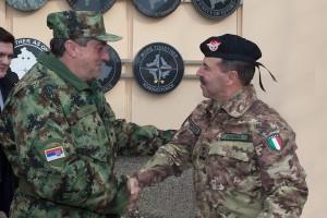 Il generale Dikovic e il generale Farina