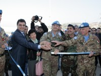 Il Director of Asia and Middle East Division delle Nazioni Unite Nakamitsu in visita a UNIFIL