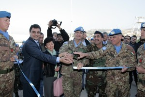 Nakamitsu, è giunto nel Sud del Libano in visita ufficiale a UNIFIL