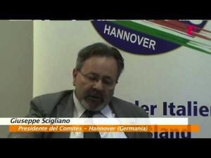 Giuseppe Scigliano Presidente del Comites Hannover
