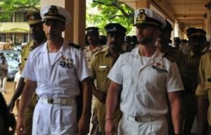 Fucilieri di Marina:Massimiliano Latorre e Salvatore Girone