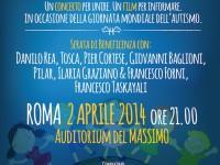 Roma: spettacolo musicale pro bambini autistici il 2 aprile