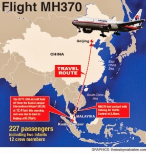 Malaysian Airlines volo MH370