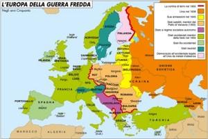 europa guerra fredda