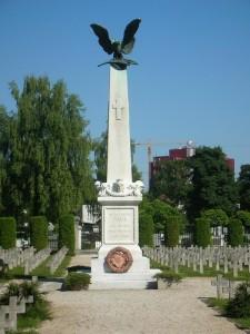 L'area italiana del cimitero di Žale