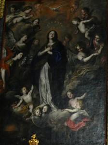 Affresco di Pietro Novelli Immacolata Concezione