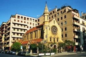 Chiesa-Anglicana Holy Cross. Esterno