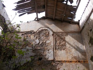 L'interno della Cappella dell'ospizio