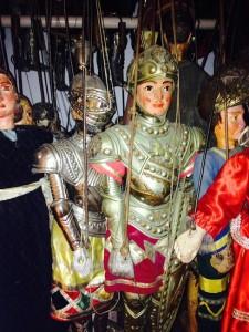 Le marionette del museo Antonio Pasqualino