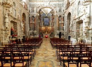 Interno della chiesa dell'Immacolata Concezione
