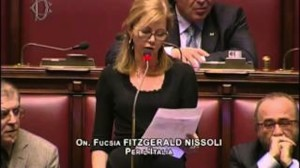 L'on. Fucsia FitzGerald Nissoli